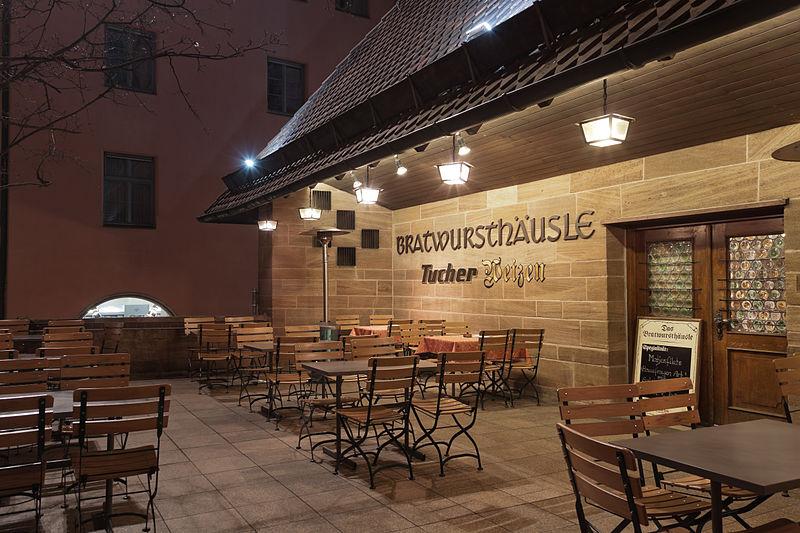 Nur eine von zahlreichen Bratwurst-Gaststätten in Nürnberg: das Bratwursthäusle.
