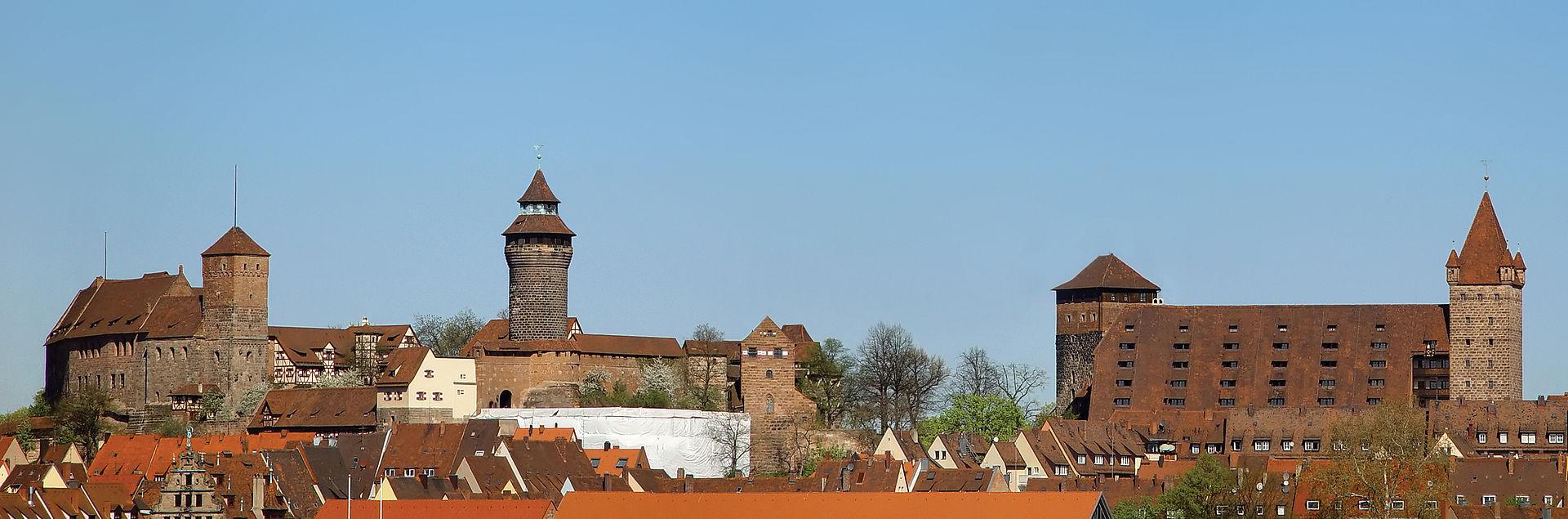 Auch tagsüber ein toller Anblick: die Nürnberger Kaiserburg.