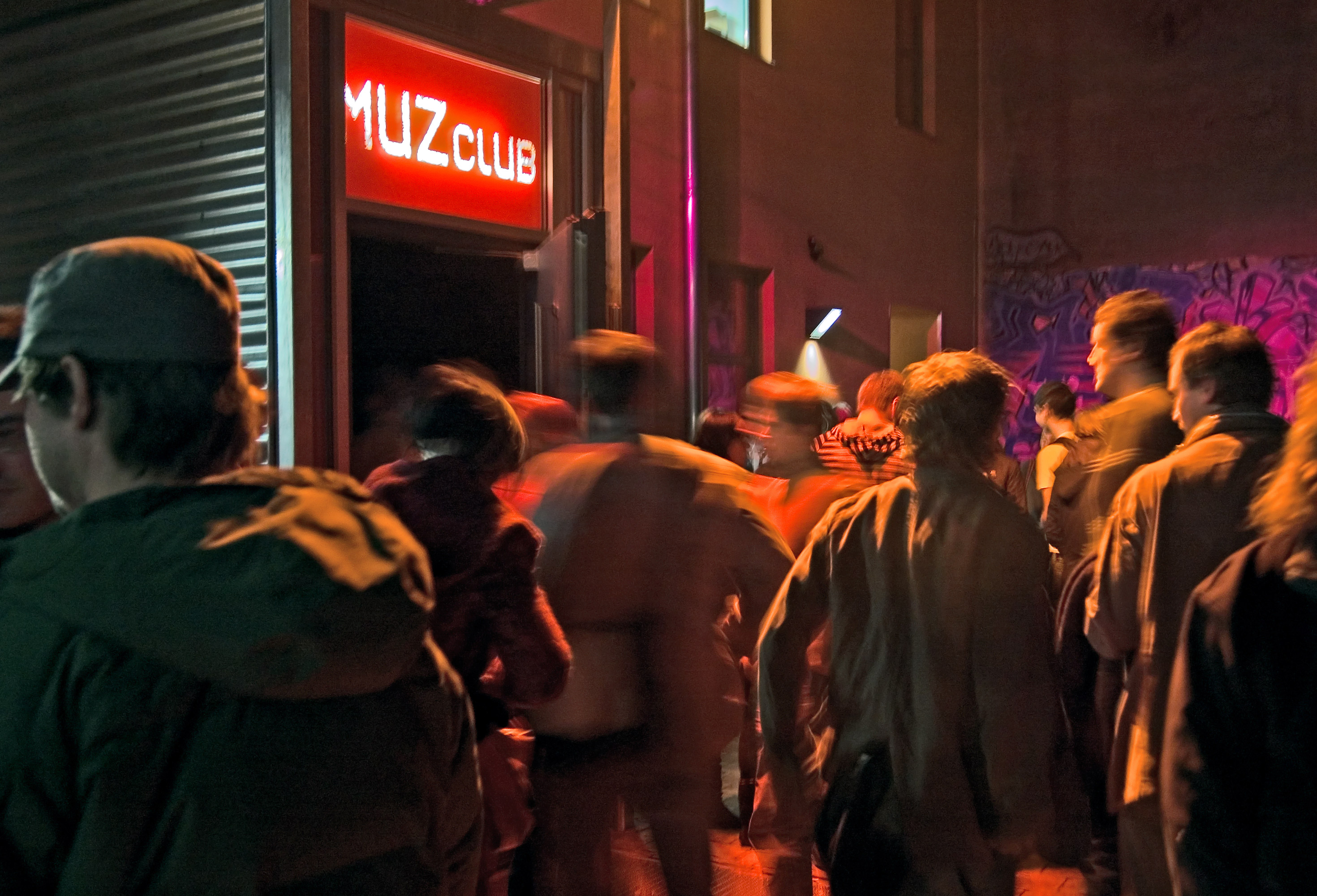 Feste Größe im Nürnberger Nachtleben und gut besucht: der MUZClub.